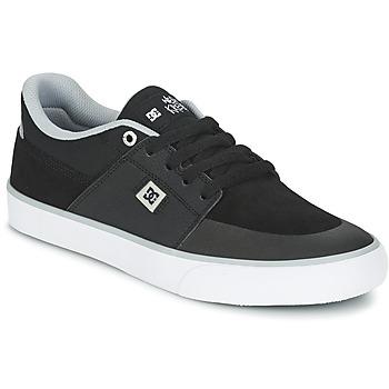 Cipők Férfi Rövid szárú edzőcipők DC Shoes WES KREMER M SHOE XKSW Fekete  / Szürke / Fehér