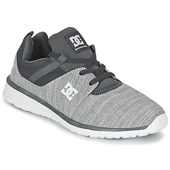 Cipők Férfi Rövid szárú edzőcipők DC Shoes HEATHROW SE M SHOE GRH Szürke