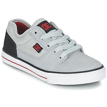 Cipők Fiú Rövid szárú edzőcipők DC Shoes TONIK B SHOE XSKR Szürke / Fekete  / Piros