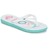 Cipők Lány Lábujjközös papucsok Roxy RG SANDY G SNDL WBL Kék