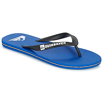 Cipők Férfi Lábujjközös papucsok Quiksilver MOLOKAI Fekete  / Kék / Fehér