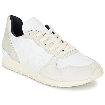 Cipők Női Rövid szárú edzőcipők Veja HOLIDAY LOW TOP Fehér / Bézs