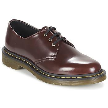 Cipők Női Oxford cipők Dr Martens VEGAN 1461 Piros / Cseresznye