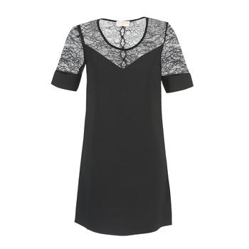Ruhák Női Rövid ruhák Moony Mood FUFU Fekete