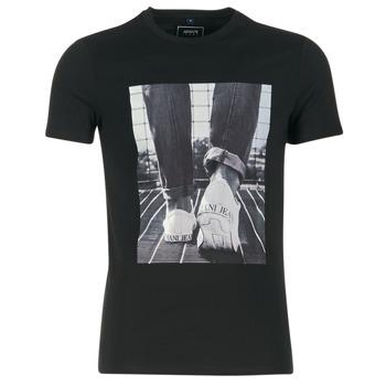 material Férfi Rövid ujjú pólók Armani jeans JANADORI Fekete