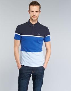 Ruhák Férfi Rövid ujjú galléros pólók Armani jeans MARAFOTA Kék