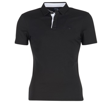 material Férfi Rövid ujjú galléros pólók Armani jeans MEDIFOLA Fekete