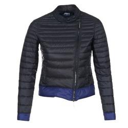 Ruhák Női Steppelt kabátok Armani jeans BEAUJADO Fekete  / Kék
