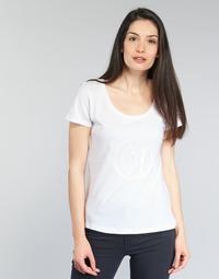 Ruhák Női Rövid ujjú pólók Armani jeans LASSERO Fehér