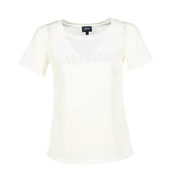 Ruhák Női Rövid ujjú pólók Armani jeans KAJOLA Fehér