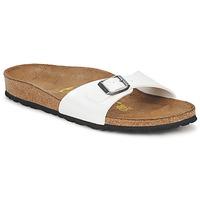 Cipők Női Papucsok Birkenstock MADRID Fehér / Gyöngyházszínű