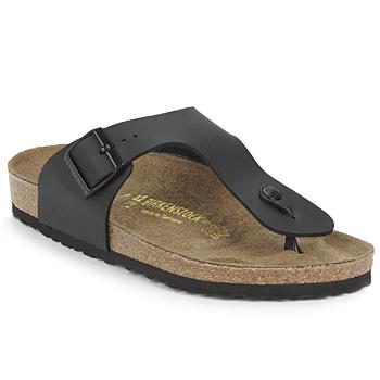 Cipők Férfi Lábujjközös papucsok Birkenstock RAMSES Fekete