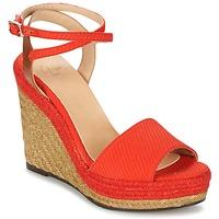 Cipők Női Szandálok / Saruk Castaner ADELA Piros
