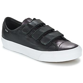 Cipők Női Rövid szárú edzőcipők Vans PRISON ISSUE Fekete