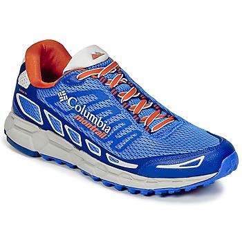 Cipők Férfi Futócipők Columbia BAJADA™ III Kék / Narancssárga