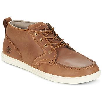 Shoes Férfi Rövid szárú edzőcipők Timberland FULK LP CHUKKA MT LEATHER Barna