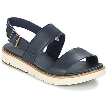 Shoes Női Szandálok / Saruk Timberland BAILEY PARK SLINGBACK Tengerész