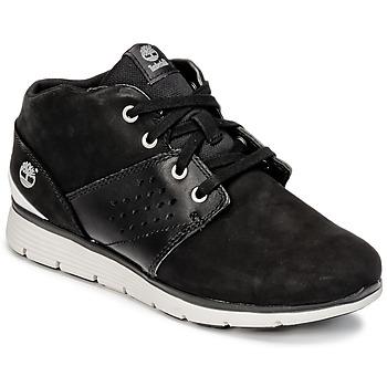 Cipők Fiú Magas szárú edzőcipők Timberland KILLINGTON CHUKKA Fekete