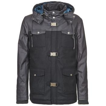 Ruhák Férfi Parka kabátok Eleven Paris KAEZ Fekete