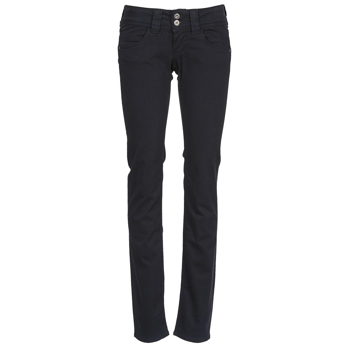 Pepe jeans VENUS Fekete   999 - Ingyenes Kiszállítás a SPARTOO.HU-mal ! -  Ruhák Nadrágok Noi 30 069 Ft 8e177106e2