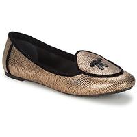 Cipők Női Balerina cipők / babák Etro 3078 Arany