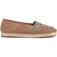Cipők Női Gyékény talpú cipők Giuseppe Zanotti E66084 CAPPUCCINO Marrone chiaro