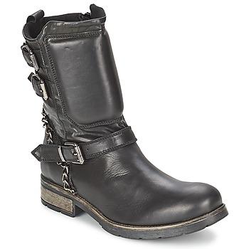 Cipők Női Csizmák Casual Attitude SERIS Fekete