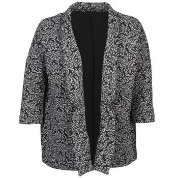 Ruhák Női Kabátok / Blézerek Sisley FRANDA Fekete  / Szürke