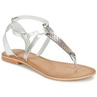 Cipők Női Szandálok / Saruk Vero Moda VMANNELI LEATHER SANDAL Ezüst