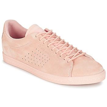 Cipők Női Rövid szárú edzőcipők Le Coq Sportif CHARLINE NUBUCK Rózsaszín