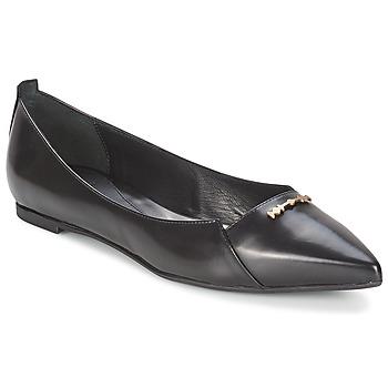 Cipők Női Balerina cipők / babák McQ Alexander McQueen 375371 Fekete