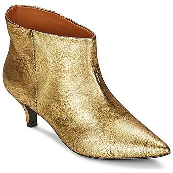 Cipők Női Bokacsizmák RAS ESPE Arany