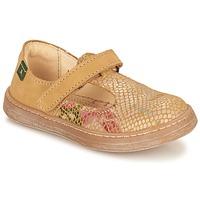 Cipők Lány Balerina cipők / babák El Naturalista KEPINA Bézs