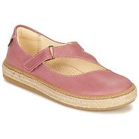 Shoes Lány Balerina cipők / babák El Naturalista JASPER Rózsaszín