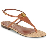 Cipők Női Szandálok / Saruk Ralph Lauren ANITA SANDALS CASUAL Barna