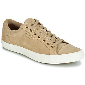 Cipők Férfi Rövid szárú edzőcipők Ralph Lauren GEFFREY Teve