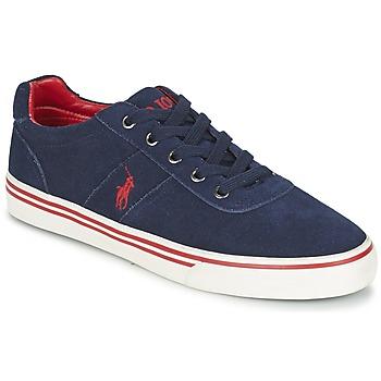 Cipők Férfi Rövid szárú edzőcipők Ralph Lauren HANFORD Tengerész