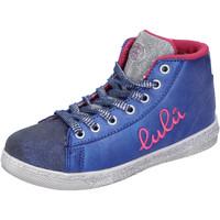 Cipők Lány Magas szárú edzőcipők Lulu AH227 Kék