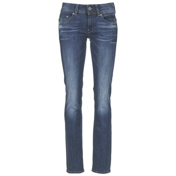 Ruhák Női Egyenes szárú farmerek G-Star Raw MIDGE SADDLE MID STRAIGHT Farmer
