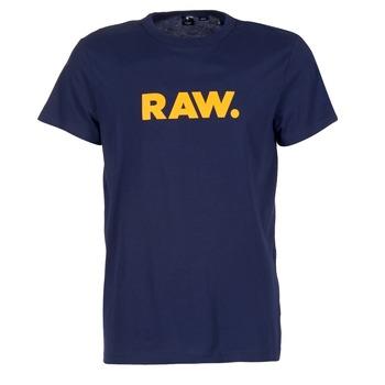 material Férfi Rövid ujjú pólók G-Star Raw RAW DOT Tengerész