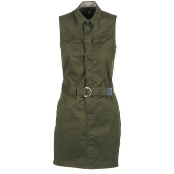 material Női Rövid ruhák G-Star Raw ROVIC SLIM DRESS S/LESS Keki