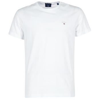 Ruhák Férfi Rövid ujjú pólók Gant THE ORIGINAL T-SHIRT Fehér