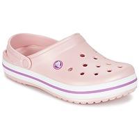 Cipők Női Klumpák Crocs CROCBAND Rózsaszín