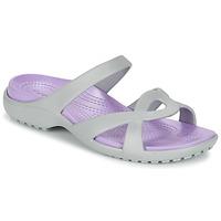 Shoes Női Szandálok / Saruk Crocs MELEEN TWIST Szürke