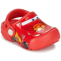Cipők Fiú Klumpák Crocs Crocs Funlab Light CARS 3 Movie Clog Piros