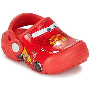 Shoes Fiú Klumpák Crocs Crocs Funlab Light CARS 3 Movie Clog Piros
