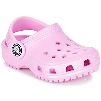 Cipők Gyerek Klumpák Crocs Classic Clog Kids Rózsaszín
