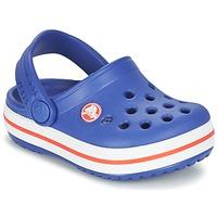 Shoes Fiú Klumpák Crocs Crocband Clog Kids Kék