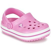 Cipők Lány Klumpák Crocs Crocband Clog Kids Rózsaszín