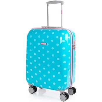 Táskák Keményfedeles bőröndök Skpat Topos között Türkiz